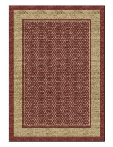 For Living Aberdeen Red Rug, 7x9-ft