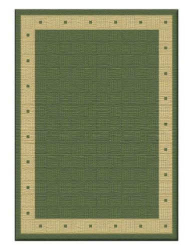 Tapis For Living Pierce, vert, 7 x 9 pi