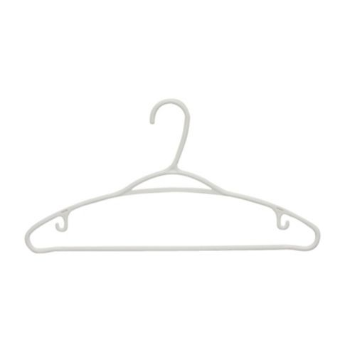 type A Plastic Hangers, 24-pk Product image