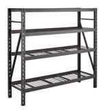 MAXIMUM 4-Tier Heavy-Duty Storage Rack, 24 x 77 x 72-in | MAXIMUMnull