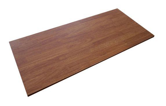 Tablette, brun, 16 x 36 po