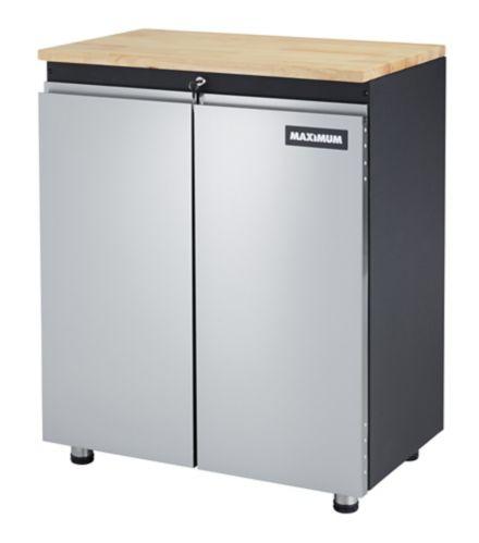 MAXIMUM 2-Door Base Cabinet, 30-in