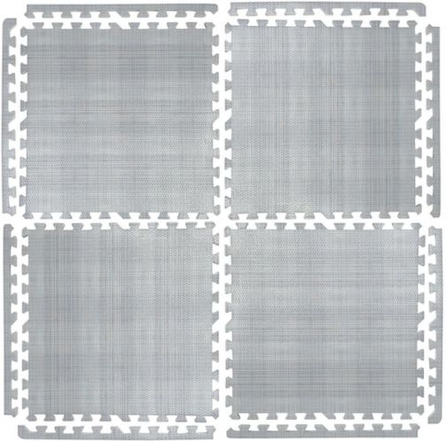 For Living Faux Linen Floor Tile, 24-in x 24-in, 4-pk Product image