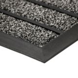 For Living Faux Coir Ribbed Door Mat, Grey, 18-in x 30-in | FOR LIVINGnull