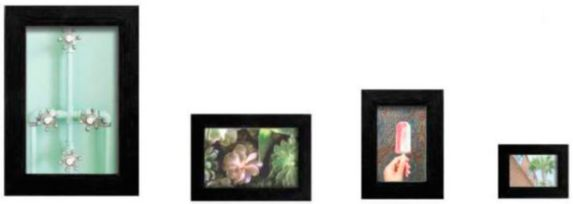 CANVAS Gallery Frame, Black, 10-pc Product image
