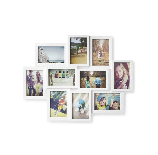 CANVAS Collage Multi Frame, 10-pc, White Product image