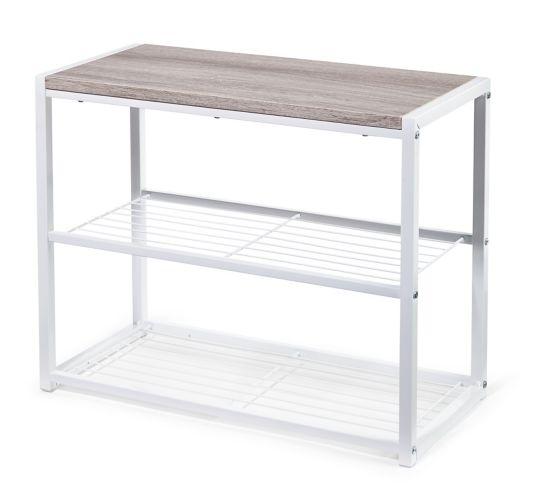 type A Linear 2-Shelf Shoe Storage Unit Product image