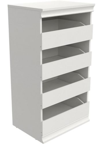 ClosetMaid Modular 4-Drawer Unit, White Product image