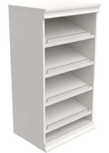 Range-chaussures modulaire ClosetMaid, blanc Image de l'article