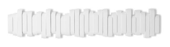 Crochets rabattables CANVAS Flemington, blanc, 24 po Image de l'article