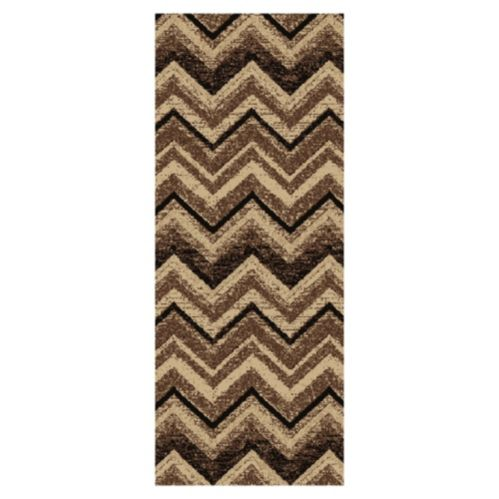 Chevron Ikat Grey Runner, 26-in Product image