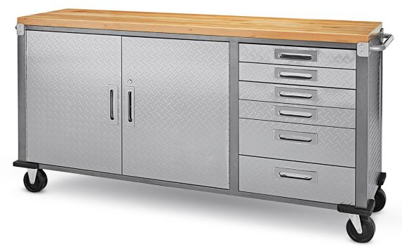 Mastercraft Rolling Cabinet, 72-in Product image