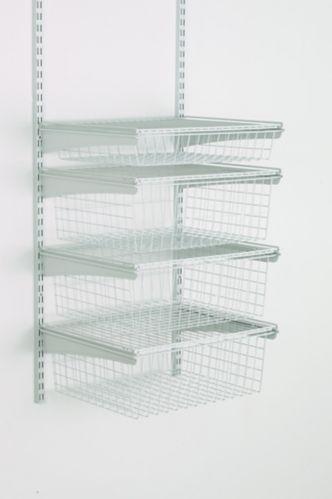 ClosetMaid 4-Drawer Shelf Track Basket Kit Product image