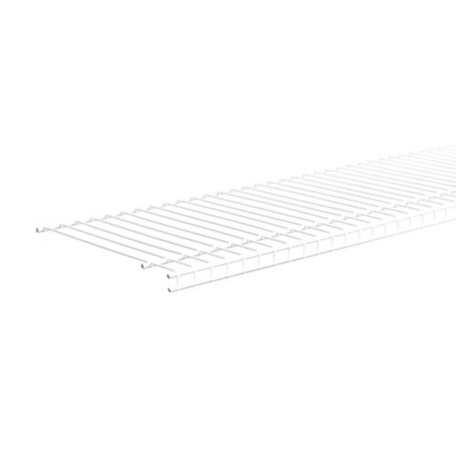 ClosetMaid Linen Shelf, White, 6-ft x 12-in Product image