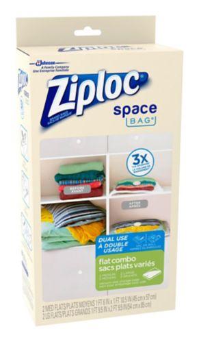 Sacs Ziploc à double usage variés, paq. 4 Image de l'article