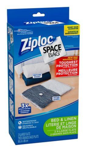 Sacs de rangement sous vide Ziploc, TG, paq. 2 Image de l'article