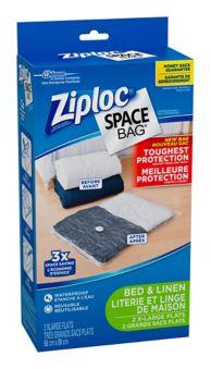 Ziploc Vacuum Storage Bags Extra Large 2 Pk