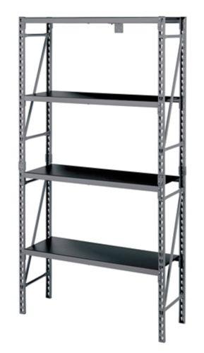MAXIMUM 4-Tier Industrial Storage Rack, 40 x 14 x 75-in Product image