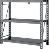 MAXIMUM 3-Tier Heavy-Duty Storage Rack, 49.6 x 18 x 47.2-in | MAXIMUMnull