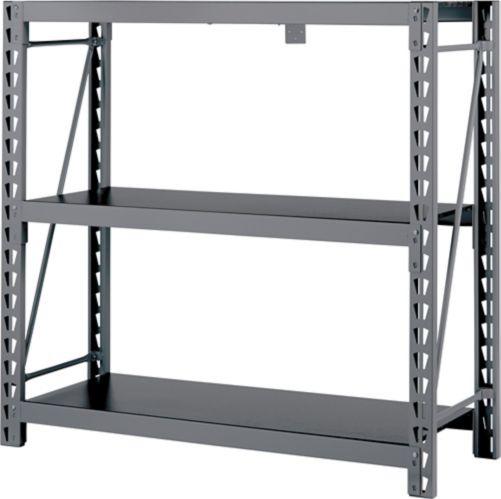 MAXIMUM 3-Tier Heavy-Duty Storage Rack, 49.6 x 18 x 47.2-in Product image