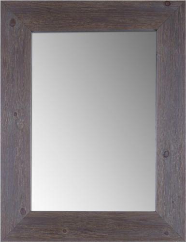 Miroir en bois CANVAS, grès, 29,25 x 37,25po Image de l'article