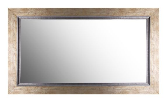 Canvas Nessa Gold Mirror, 27 x 43-in Product image