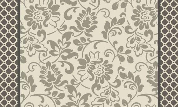 Tapis tissé confortable, gris, 18 x 30 po Image de l'article