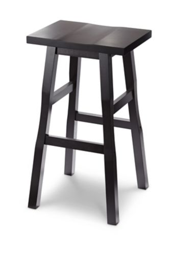 For Living Shinto Bar Stool, Dark Espresso, 26-in Product image