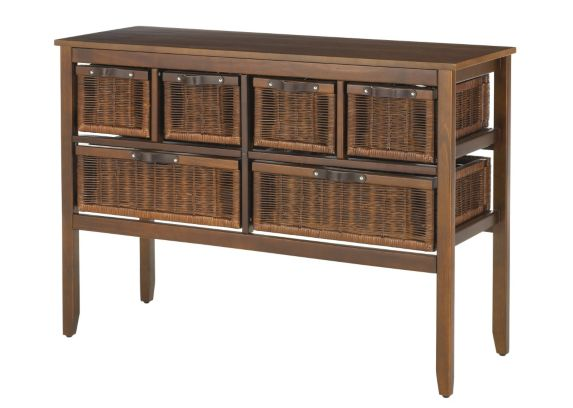 For Living 6 Drawer Colonial Console Product image