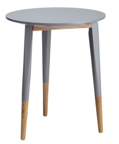 CANVAS Carson Accent Table, Grey
