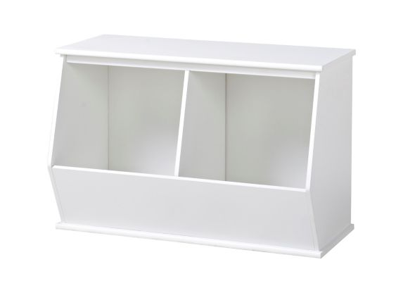 For Living 2-Cube Storage, White Product image
