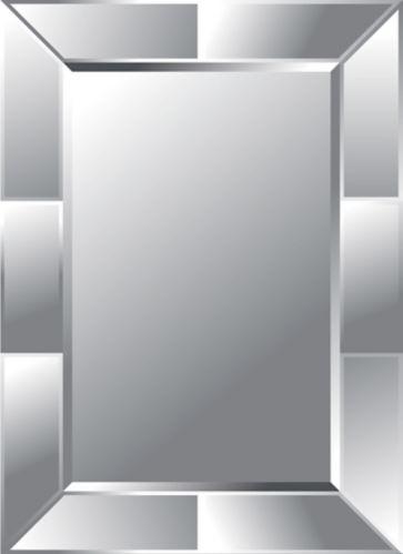 Miroir mural Multi Bevel, sans cadre, 26 x 35,5 po Image de l'article