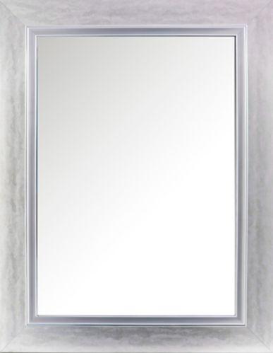 Miroir mural contemporain, cadre double, 28,5 x 35,5 po Image de l'article