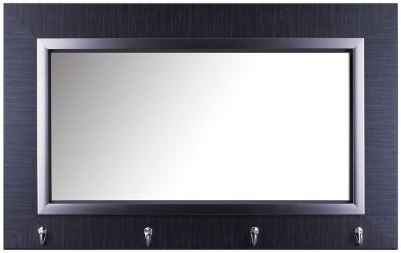Double Frame Pub Mirror with Hooks, 19-1/4 x 31-1/4-in Product image