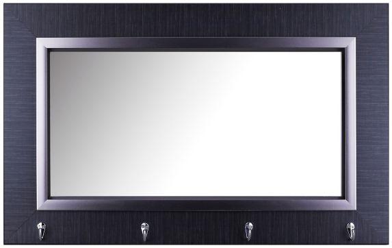 Miroir style pub avec crochets, cadre double, 19 1/4 x 31 1/4 po Image de l'article