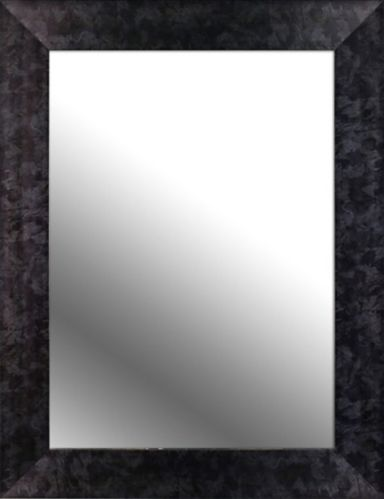 Marble Look Wall Mirror, 26.5 x 34.5-in