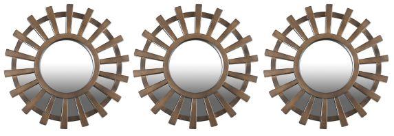 Miroirs muraux, 12 po, bronze, paq. 3 Image de l'article
