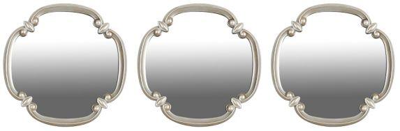 Miroirs muraux, 11 po, torsade argent, paq. 3 Image de l'article