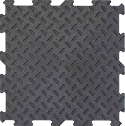 Multy Home Utility Floor Tile Value Pack, Black, 12-in x 12-in Product image