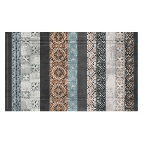 Tapis retraité Multy Home, à imprimé, 18 x 30 po