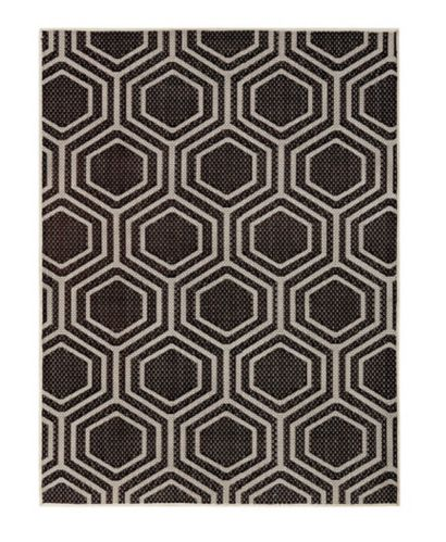 CANVAS Honeycomb Outdoor Rug, 8 x 10-ft Product image