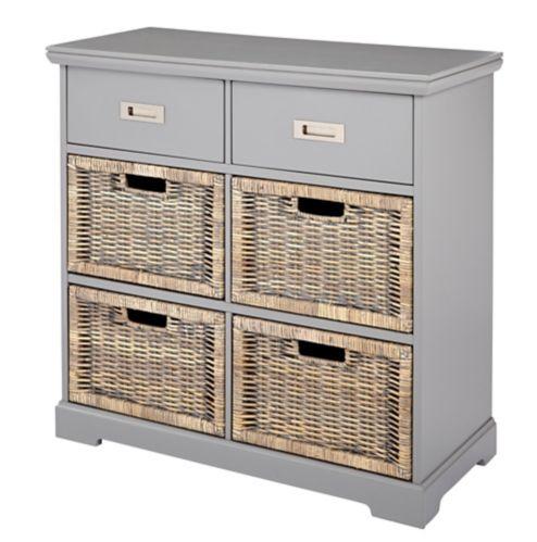 CANVAS Easton 6-Drawer Cabinet, Grey