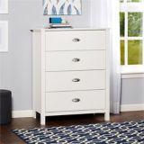 Dorel Kayla 4 Drawer Dresser, White | Dorelnull