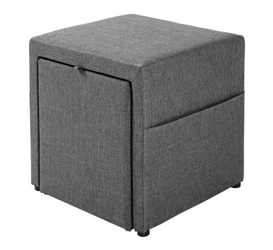 CANVAS Bradley Storage Cube, Grey, 17-in Product image