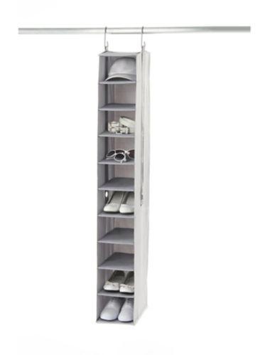 Neatfreak 10-Shelf Shoe Organizer, Grey Product image