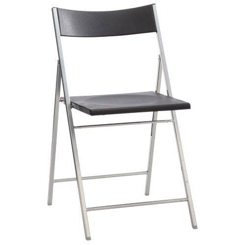 Chaise pliante Likewise, noir Image de l'article