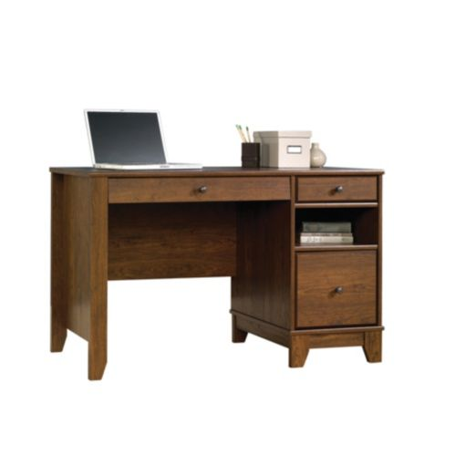 For Living Milled Cherry Camarin Computer Desk Product image