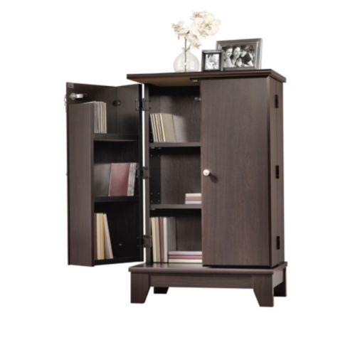 Camarin Multimedia Storage Cabinet, Espresso Product image