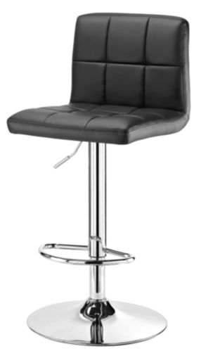 For Living Tufted Bar Stool, Black Product image