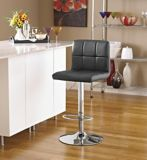 For Living Tufted Bar Stool, Black | FOR LIVINGnull